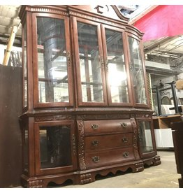 Antique China Dresser #RED