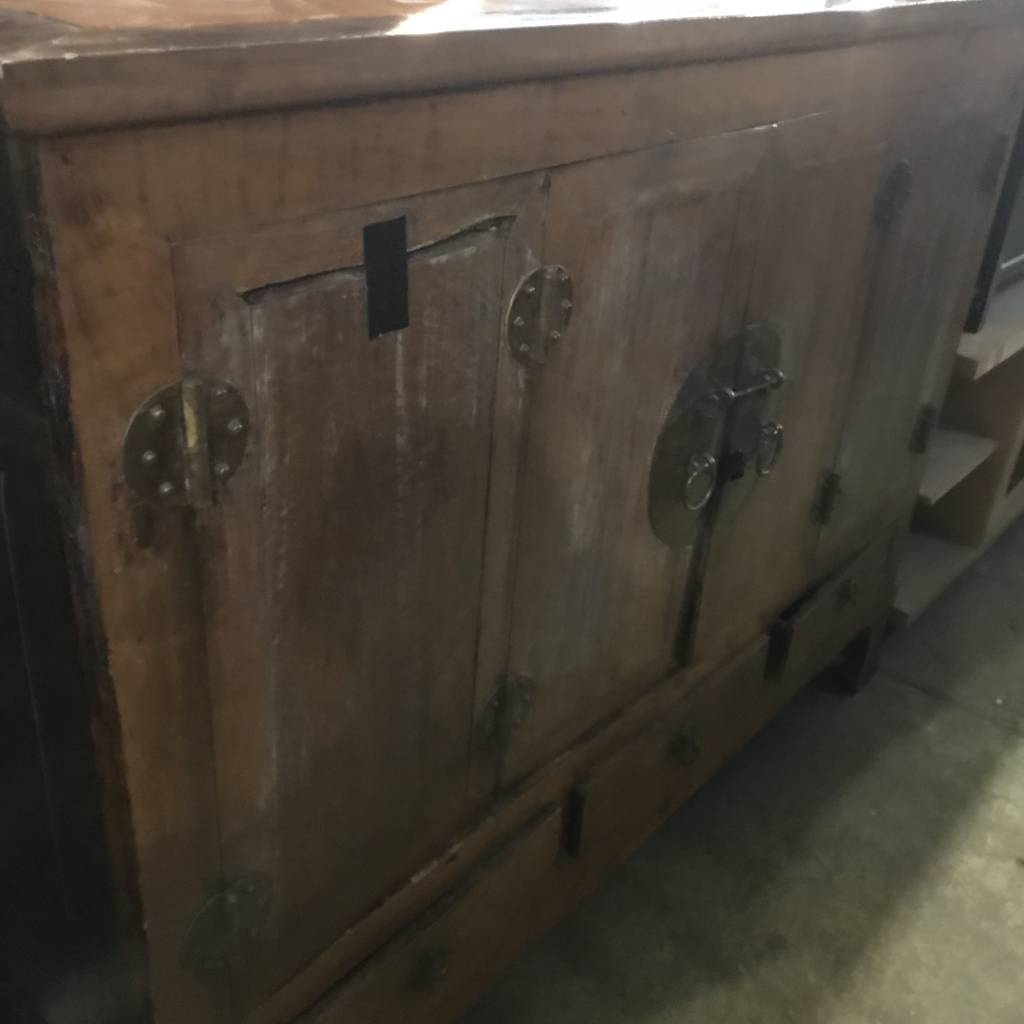 Rustic Viking Dresser #RED