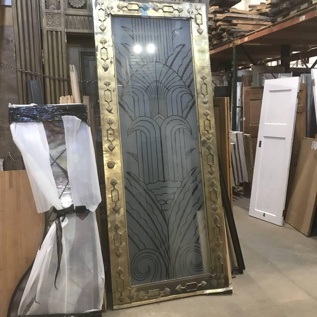 Atlantean Brass Plated Door #PIN