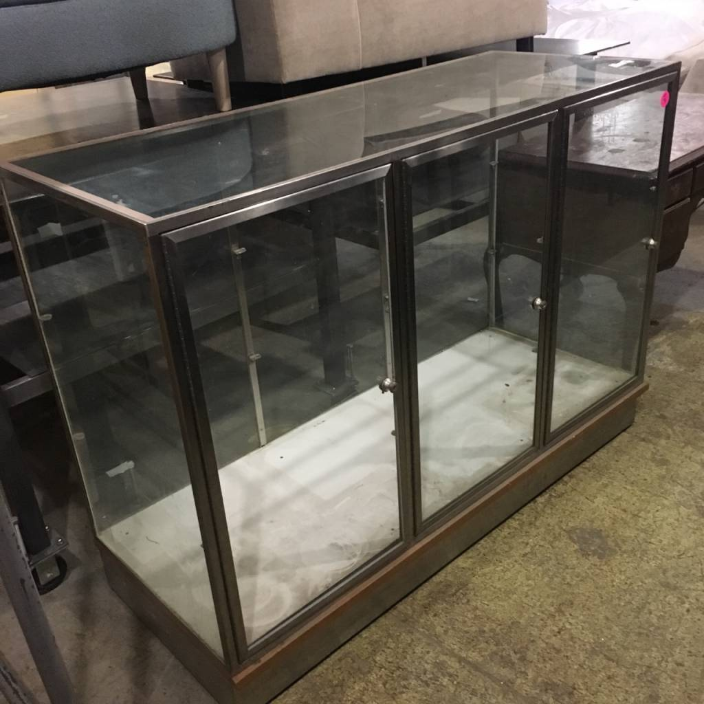 3 Tier Glass Display Case #PIN