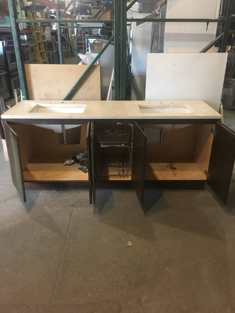 Kohler Double Sink Vanity #PIN - Big Reuse