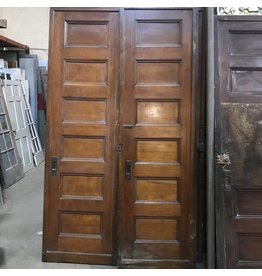 Pair of Brownstone Pocket Doors #PIN