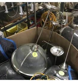 Corrugated Glass Hang Lights #YEL