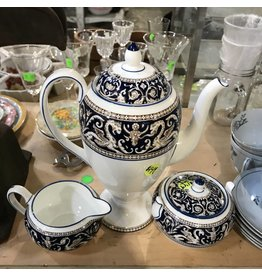 Wedgwood Coffee Pot Set #YEL