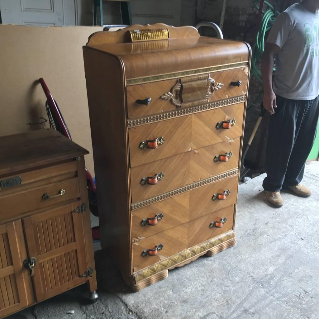 Antique White Clad Dresserr #YEL
