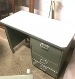 Vintage Mini Green Tanker Desk #BLU