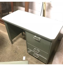 Vintage Mini Green Tanker Desk #BLU