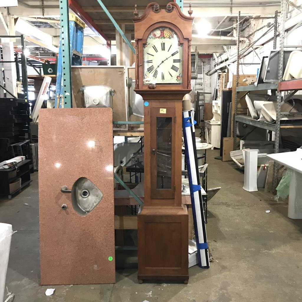 Antique Grandfather Clock #BLU