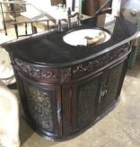 Granite Top Vintage Vanity #BLU