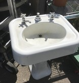 Cast Iron Pedestal Sink #ORA