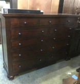 Dark Walnut Restoration Hardware Dresser #ORA