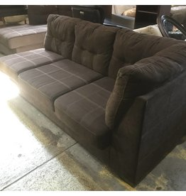 Designer L Shaped Brown Sofa #ORA