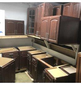 Mocha Modern Cabinet Set #ORA