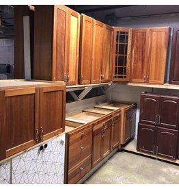 Cherry Maple Designer Cabinet Set #RED