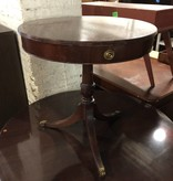 Vintage Cherry Oak Clawfoot Table #RED