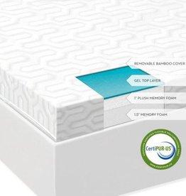 "MALOUF 2.5"" Liquid Gel Memory Foam Mattress Topper"