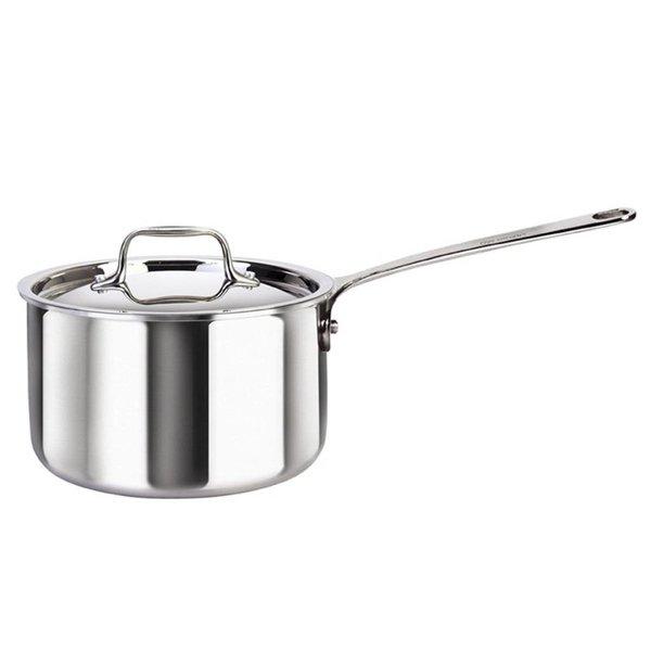 Saucier avec couvercle de Cool Kitchen Integral-3 1.9 L / Acier inoxydable