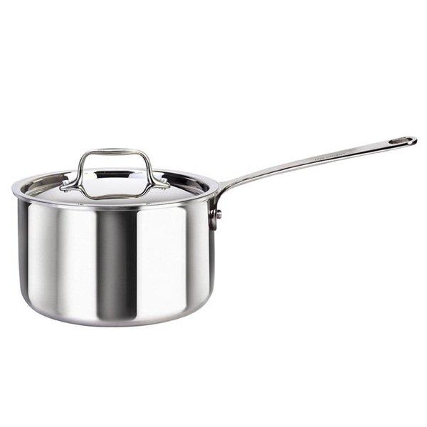 Saucier avec couvercle de Cool Kitchen Integral-3 2.7 L / Acier inoxydable
