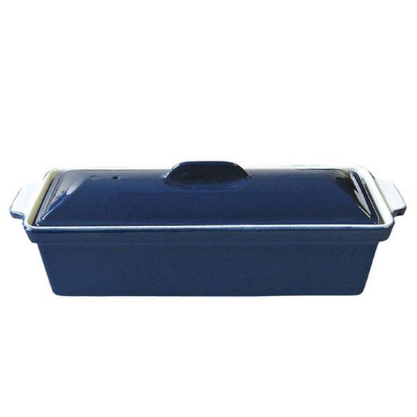 Terrine en fonte émaillée de Le Cuistot 30 cm / Bleu