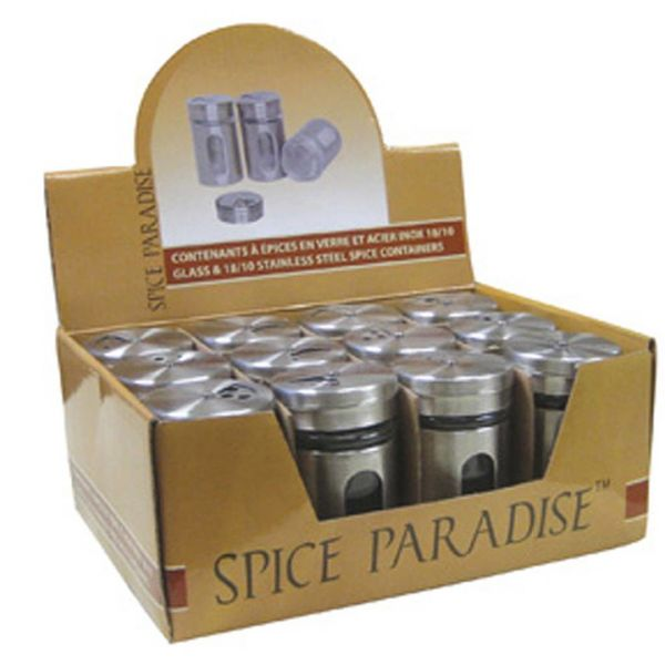 Bouteilles à épices Spice Paradise