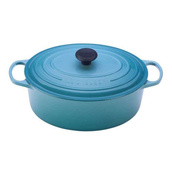 Le Creuset 4.7L Oval French Oven Caribbean