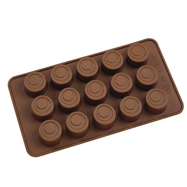 La Pâtisserie Silicone Round Chocolate Mold