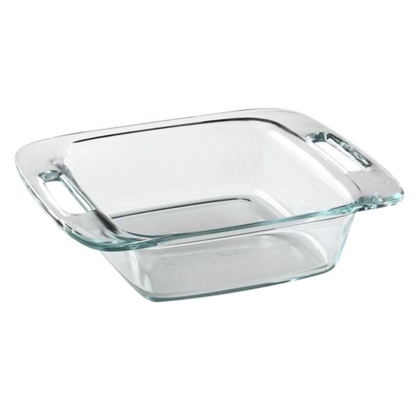 "Plat carré 20 cm ""Easy Grab"" de Pyrex"