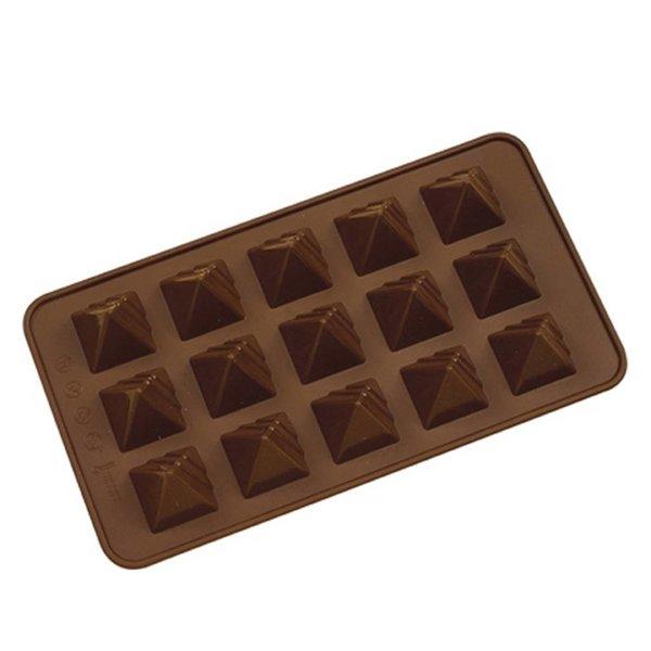 La Pâtisserie Silicone Chocolate Pyramid Mold
