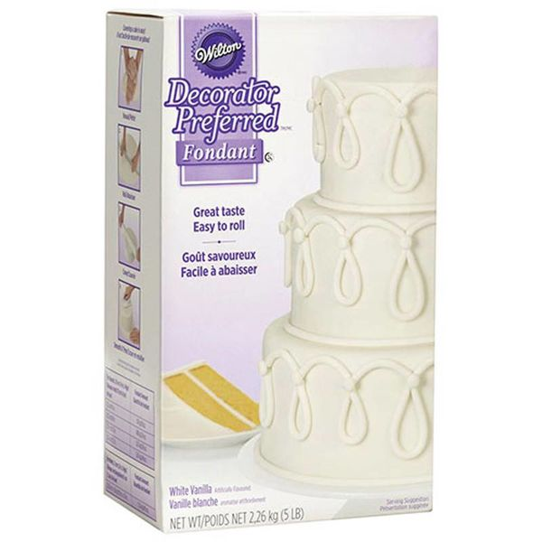 Wilton White Decorator Preferred Fondant