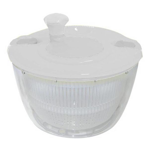 Orly Cuisine Salad Spinner Clear/White