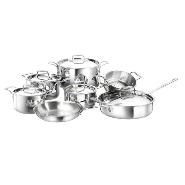 Cool Kitchen Integral 3   12 pc Cookware Set