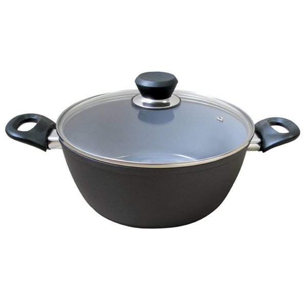 Cool Kitchen Green Cuisine Casserole with Glass Lid 10.5 L