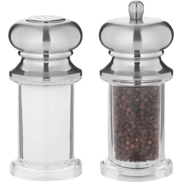 Trudeau Mondeo Pepper Mill and Salt Shaker Set