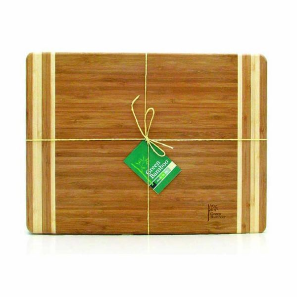 Green Bamboo Cutting Board 40cm x 30 cm