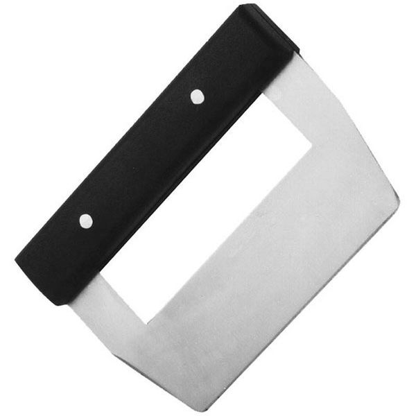 Johnson Rose Dough Scraper Black