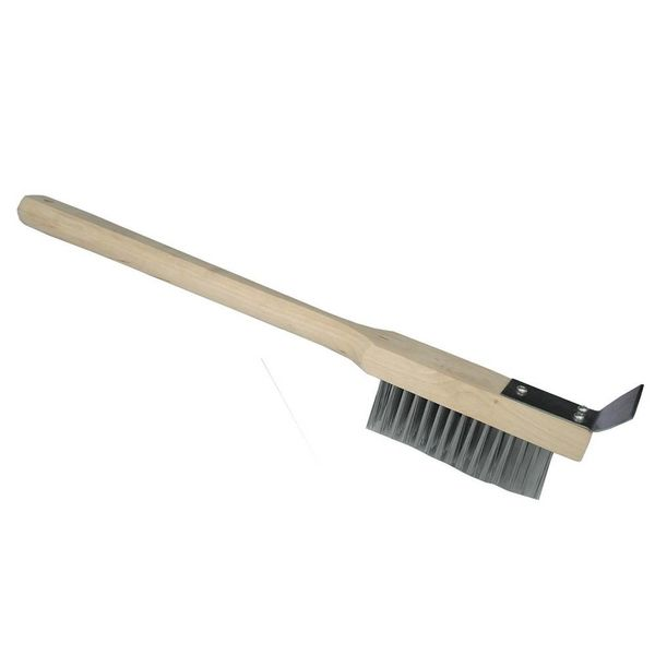 Johnson Rose Heavy Duty Wire Brush with Scraper