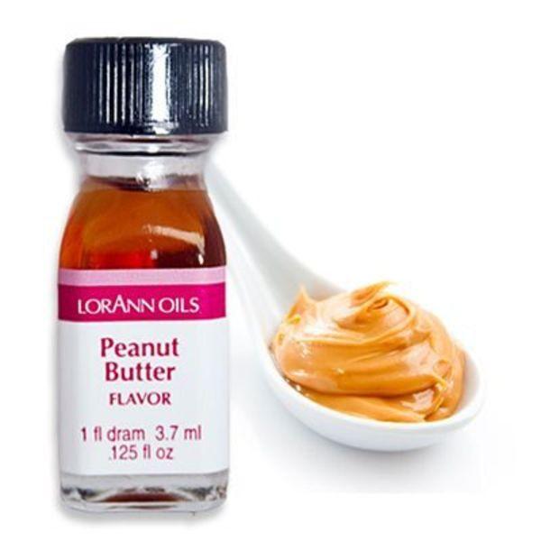 Arôme en huile beurre d'arachides 3,7 ml de Lorann Oil