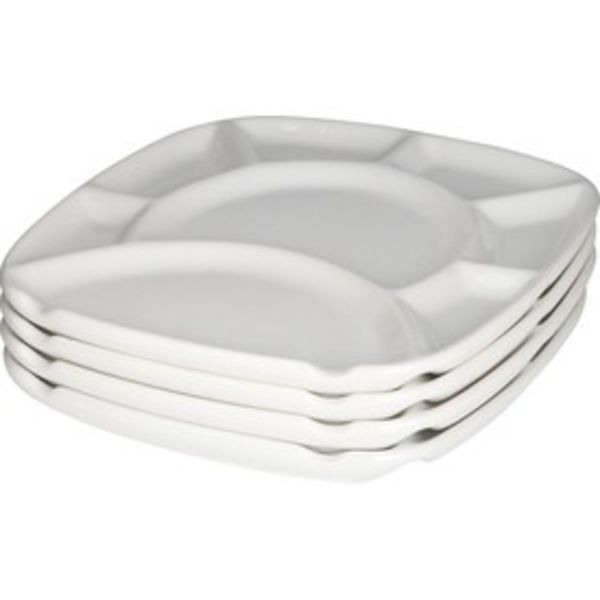 Trudeau Set of Fondue Plates