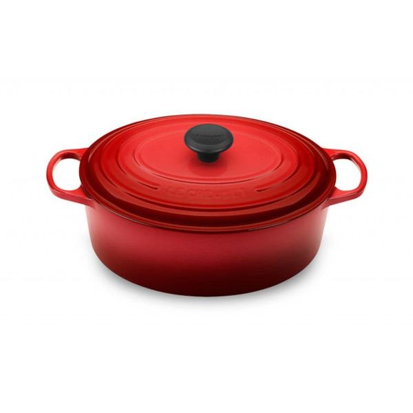 Le Creuset 4.7L Oval French Oven Cherry