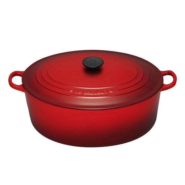 Le Creuset 8.9L  Oval French Oven Cherry