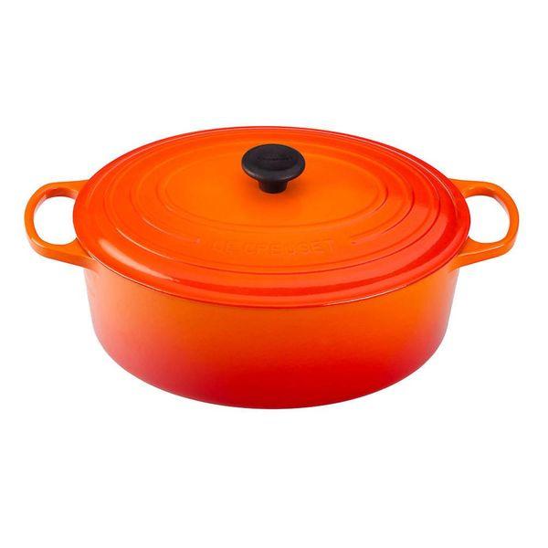 Cocotte ovale 8,9 L Le Creuset Flamme