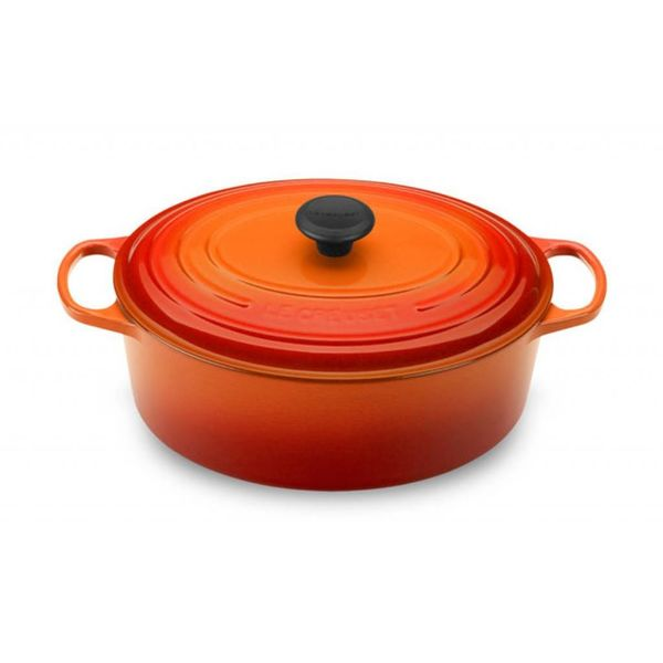 Le Creuset 6.3L Oval French Oven Flame