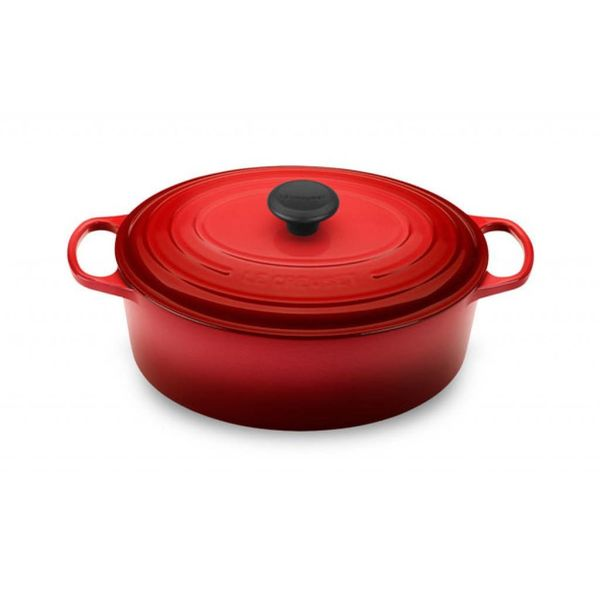 Le Creuset 6.3L Oval French Oven Cherry