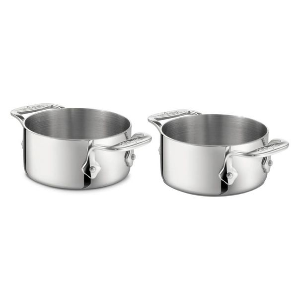 Ensemble de 2 ramquins à soufflé/soupe de All-Clad