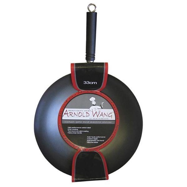 Wok Arnold Wang 33 cm / Acier au carbone