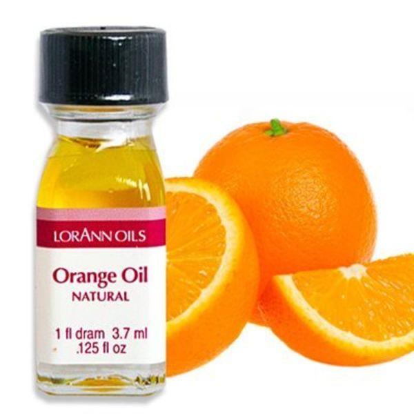Arôme en huile orange 3,7 ml de Lorann Oil