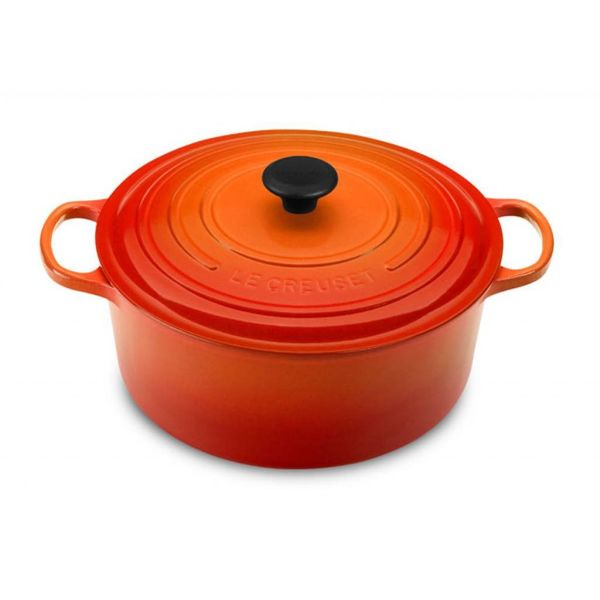 Le Creuset 8.4L Round French Oven Flame