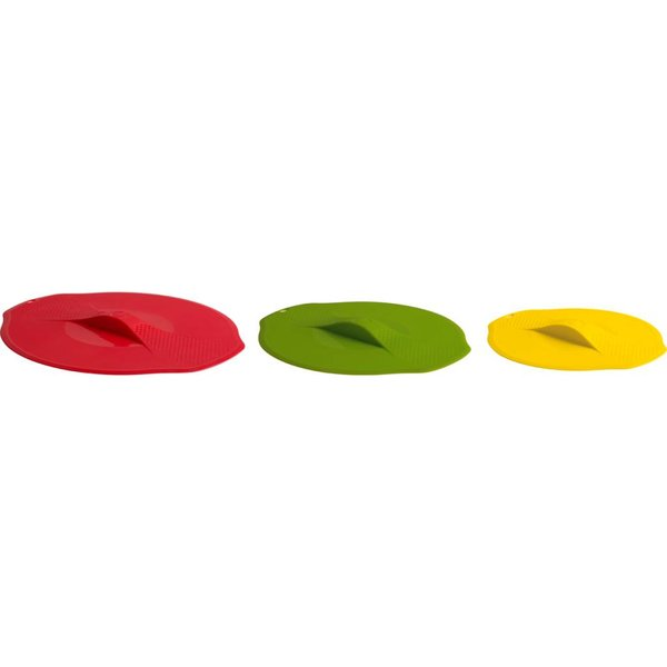 Trudeau Set of 3 Silicone Lids