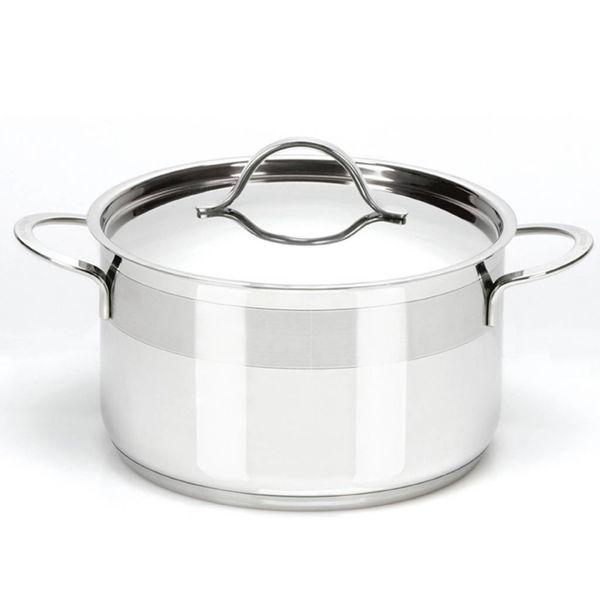 Faitout avec couvercle de Cool Kitchen Pro 3.8 L / Acier inoxydable