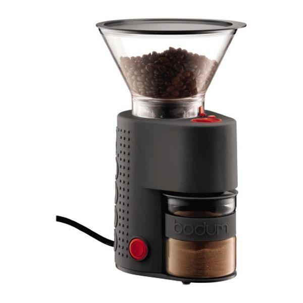 Moulin à café noir Bistro Burr de Bodum